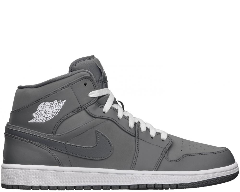low priced 11460 5f2e9 All The Sneakers: Air Jordan 1 Mid (Nike: 554724-014)